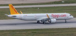 Airbus ilk e-teslimatı Pegasus'a yaptı
