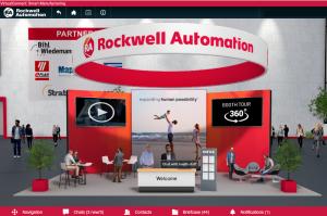 Rockwell'in Virtual Connect sanal fuarı üretim profesyonellerini bir araya getirdi