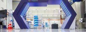 Singapur'da Geleceğin Fabrikası açıldı