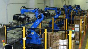 Gedik Piliç Üretim Hattında Robotlarla Çalışıyor