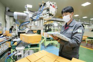 KT'den akıllı fabrika Robotik çözümü