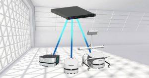 Omron Sektörün İlk Mobil Robot Simülatörünü Sunuyor