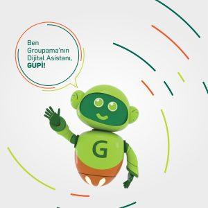 Groupama, yapay zeka destekli Dijital Asistan GUPİ'yi tanıttı