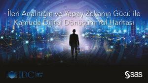 """""""İleri Analitiğin ve Yapay Zekânın Gücü ile Kamuda Dijital Dönüşüm Yol Haritası"""" başlıklı araştırma raporu yayınlandı."""