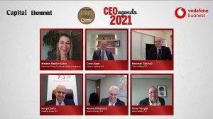İŞ DÜNYASI CEO CLUB'DA 2021 AJANDASINI KONUŞTU