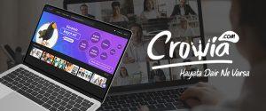 Yeni nesil dijital eğitim pazaryeri Crowia açıldı
