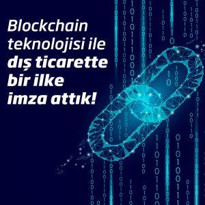 İş Bankası'ndan blockchain teknolojisi ile dış ticarette bir ilk daha