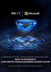 Microsoft Üretim Teknolojileri Merkezi, MEXT çatısı altında Türk sanayisinin hizmetine sunuluyor.