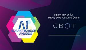 CBOT AI Breakthrough Awards'dan da Ödülle Döndü!