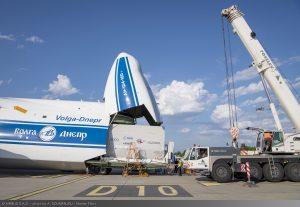 Jüpiter yolculuğu öncesi JUİCE'in son durağı Airbus.