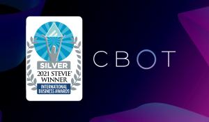 """CBOT, International Business Awards®'ta """"Yılın Şirketi"""" kategorisinde Stevie® ödülü Aldı!"""
